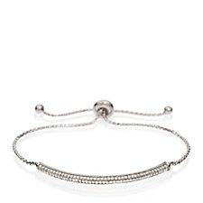 Folli Follie Fashionably Silver Sparkle Ball Bracelet