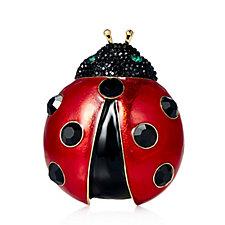 Butler & Wilson Ladybird Brooch
