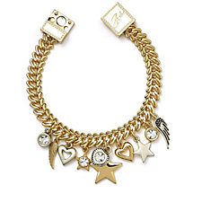 Bibi Bijoux Heart & Star Charm Bracelet