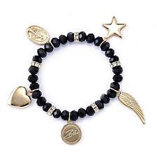 Bibi Bijoux Beaded Charm Bracelet