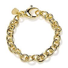 Bronzo Italia Rolo Link 19cm Bracelet