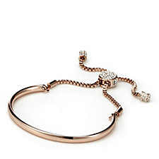 304591 - loveRocks Friendship Bracelet with Pave Crystal Clasp Slider