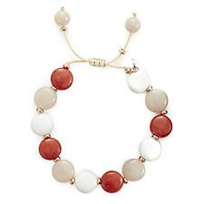 Lola Rose Nera Semi Precious Adjustable Bracelet