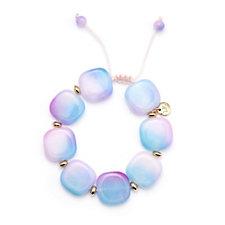 306592 - Lola Rose Zanzibar Semi Precious Flat Pebble Bracelet