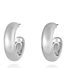 Elizabeth Taylor Classic Hoop Earrings