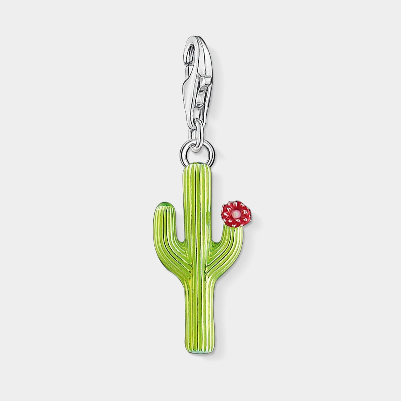 Thomas sabo charms jewellery qvc uk thomas sabo charm club green cactus flower charm sterling silver 312292 mozeypictures Choice Image