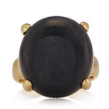 K by Kelly Hoppen Miami Collection Labradorite Ring Bronze
