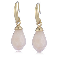 Sence Copenhagen Aloha Semi Precious Pear Drop Earrings