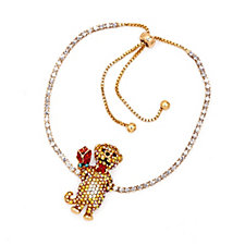 Butler & Wilson Crystal Meerkat Bracelet