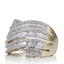 1.25ct Diamond Entwine Ring 9ct Gold