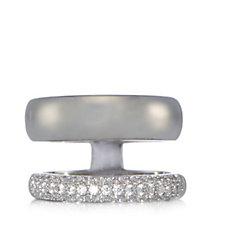 K by Kelly Hoppen Miami Collection Cubic Zirconia Ring Plated Bronze