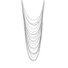 Loverocks Crystal Layer 56cm Necklace