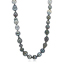 7-12mm Cultured Tahitian Pearls 80cm Necklace