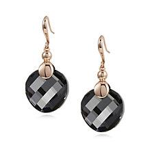 Aurora Swarovski Crystal Twist Sparkle Drop Earrings