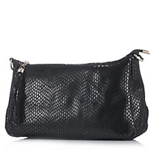 Frank Usher Leather Cross Body Bag with Detachable Strap