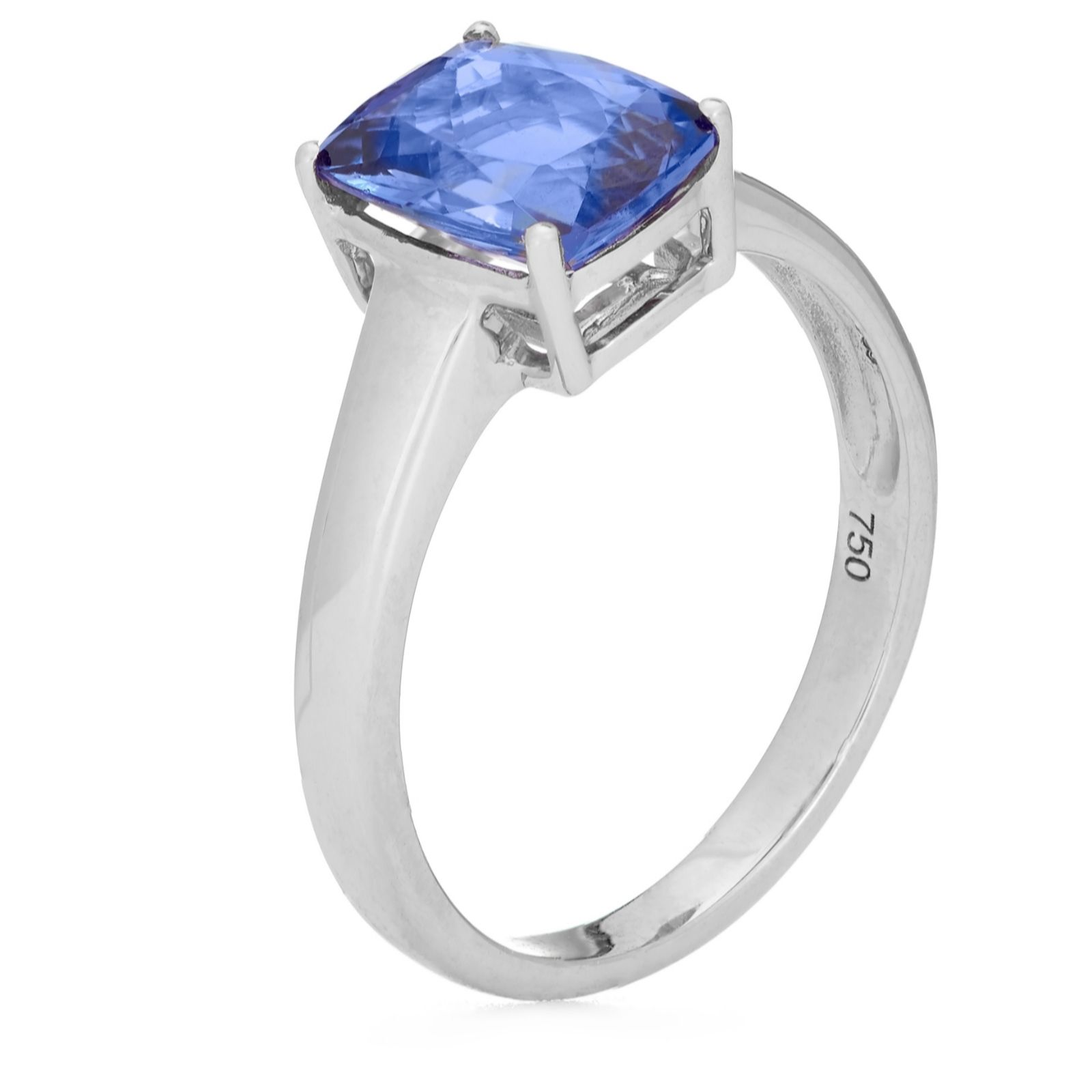 gold ring gia investment grade certified white vaa diamond engagement halo double tanzanite