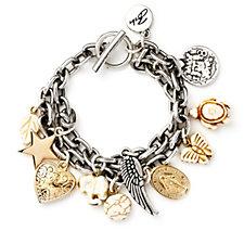 Bibi Bijoux Toggle Charm Bracelet