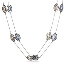 Frank Usher Set of 2 Summer Station 90cm Necklaces