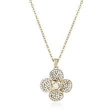Loverocks Crystal Flower 46cm Necklace