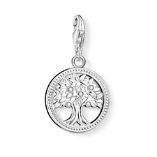 Thomas Sabo Charm Club Tree Charm Sterling Silver