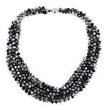 Frank Usher Cluster Bead 45cm Necklace
