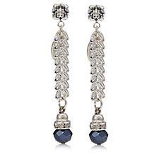 Bibi Bijoux Bead & Crystal Drop Earrings