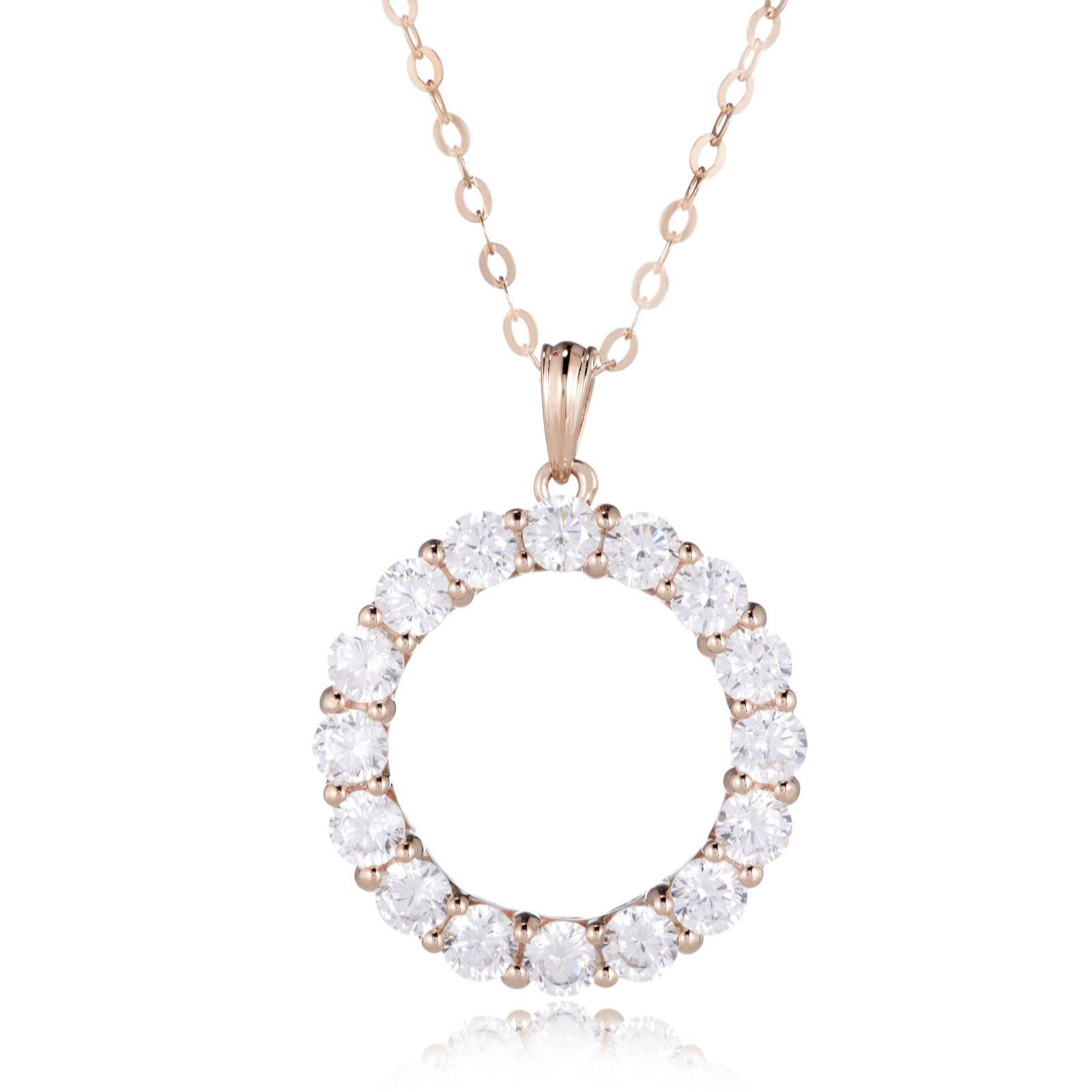 Diamonique — Necklaces & Pendants — Jewellery - QVC UK