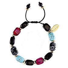 304497 - Lola Rose Angel Semi Precious Adjustable Bracelet