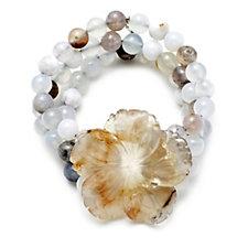 306197 - Lola Rose Abigayle Semi Precious Flower Bracelet