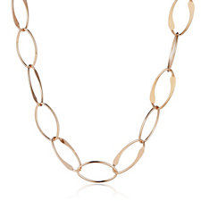 Bronzo Italia Oval Link Necklace