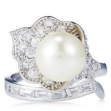 Princess Grace Collection Majorcan Pearl Wedding Gift Ring