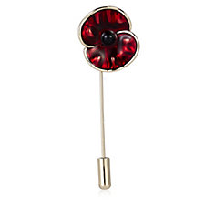 The Poppy Collection Poppy Pin Brooch by Buckley London