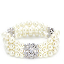 Princess Grace Collection Majorcan Pearl Wedding Gift Bracelet