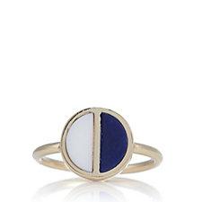 Lola Rose Boutique Garbo Divided Circle Semi Precious Ring