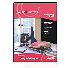AeroPilates Simply Cardio Workout Level 3 DVD