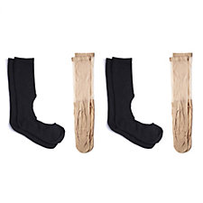 Show No Socks Set of 4 Ankle Socks