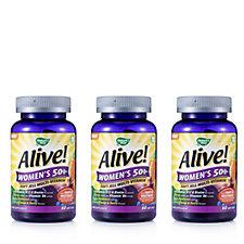 Alive! Women's 50+ Soft Jell Multivitamin + Mineral