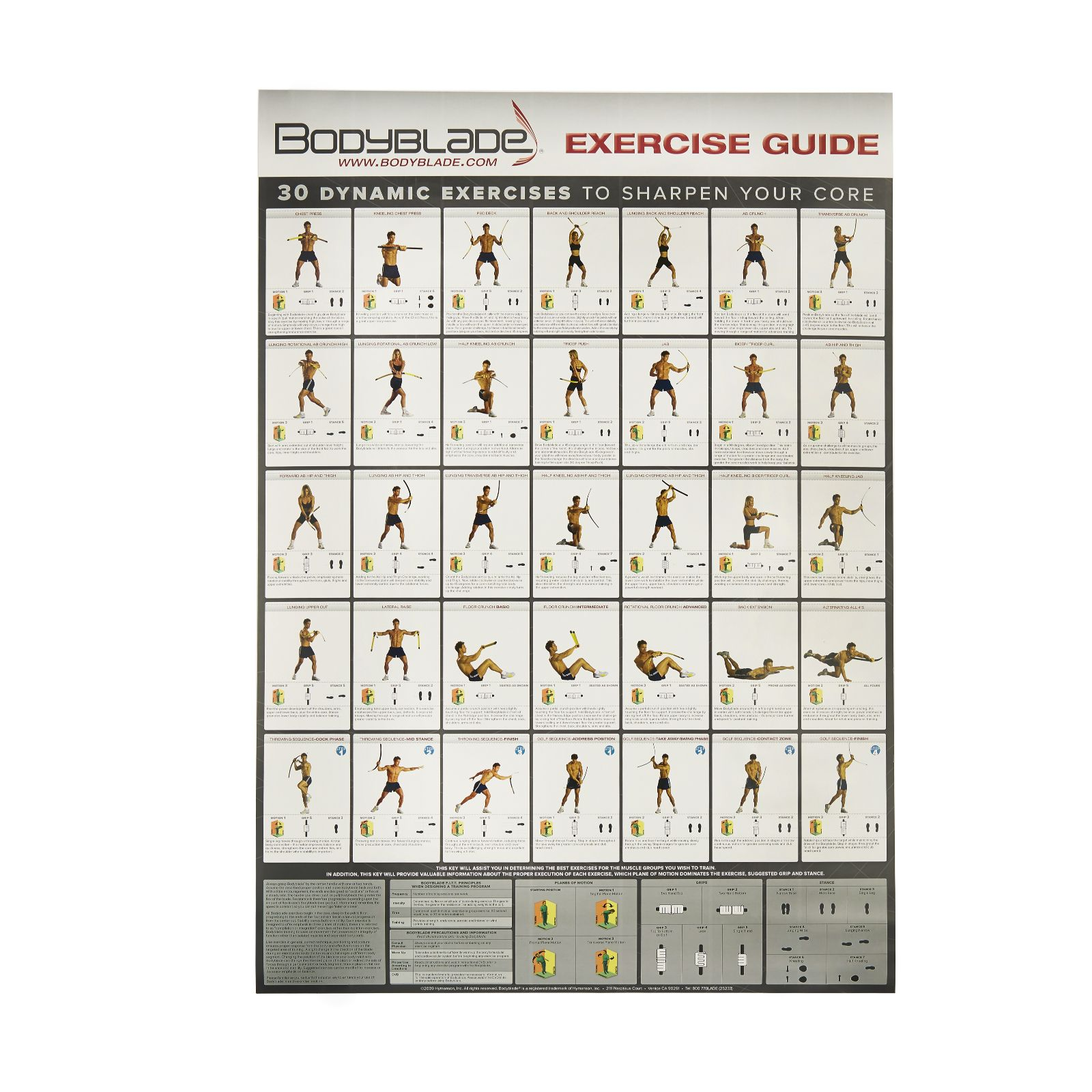 Bodyblade with 2 dvd wallchart page 1 qvc uk nvjuhfo Choice Image