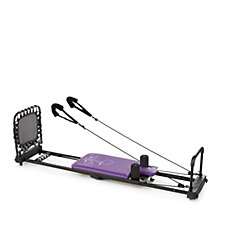 AeroPilates 4 Cord Reformer with Cardio Rebounder & Powercords