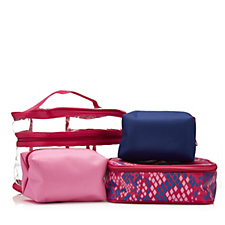 Danielle Creations 3pc Bag in Bag Toiletry & Make-Up Bag Set