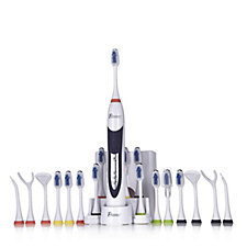 Pursonic Sonic ToothBrush with 12 Brush Heads & 8 Accessories