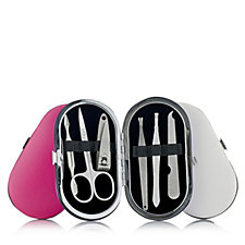 401046 - Set of 3 Mini Manicure Kits In Oval Cases