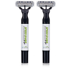 Speed Shave Pack of 2 Waterless Razors