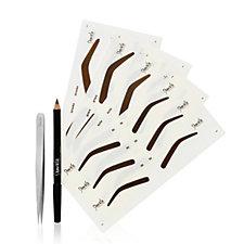 Shavata Stencil Kit & Pointed Tweezer
