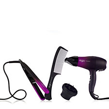 Ego Trip Brights Edition Hairdryer & Straightener Set