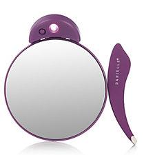 Danielle Creations 12x LED Mag Mirror with Ergonomic Tweezer