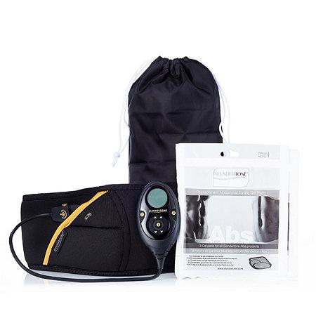 slendertone premium abdominal belt with 2 sets of gel pads 401276. Black Bedroom Furniture Sets. Home Design Ideas