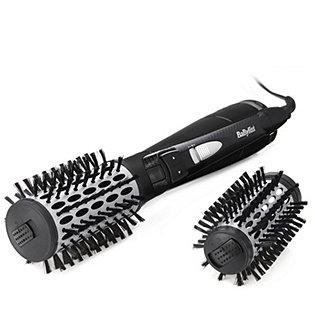 babyliss dual big hair rotating hot air styler brush 50mm