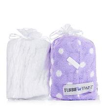 Turbie Twist Set of 2, 1x Headband, 1x Turbie Twist Towel