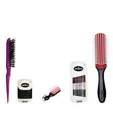 Denman Hairbrush Set and Accessories